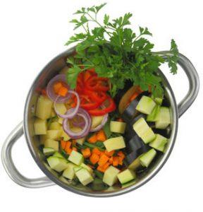 Ausgewogen essen - Kopfschmerzen vorbeugen